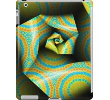 Folding and Pleating A Paper Spiral II iPad Case/Skin