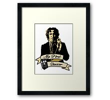 My first Doctor (Who) eighth 9th Paul McGann Framed Print