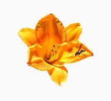 Orange Lilium Flower Unisex T-Shirt