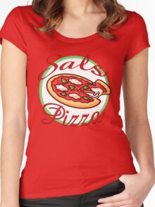 Sal's Pizza Women's Fitted Scoop T-Shirt