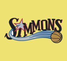 Ben Simmons Philadelphia Sixers (76ers) First Round Draft First Pick NBA One Piece - Short Sleeve