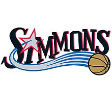 Ben Simmons Philadelphia Sixers (76ers) First Round Draft First Pick NBA Photographic Print