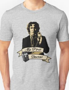 My first Doctor (Who) eighth 9th Paul McGann T-Shirt