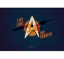 Star Trek Illustration Photographic Print