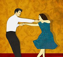 Swing Dance by Janet Carlson