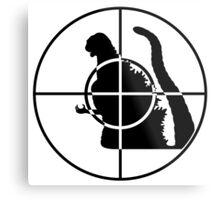 Global Enemy - Godzilla - no text Metal Print