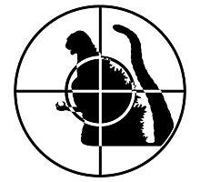 Global Enemy - Kaiju - no text Photographic Print
