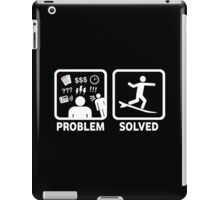 Funny Surfing Problem Solved iPad Case/Skin