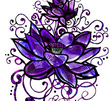Purple Lotus by DropBeart