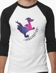 Journey Into Imagination with Figment Men's Baseball ¾ T-Shirt
