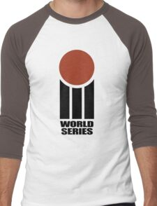 Retro Cricket Men's Baseball ¾ T-Shirt