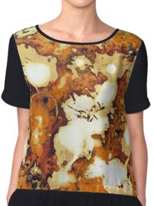 Changes - Abstract Women's Chiffon Top