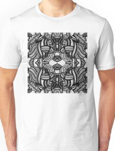 Miniature Aussie Tangle 10 Pattern Variations Unisex T-Shirt