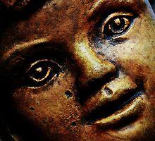 Golden Face by Scott Mitchell