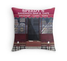 Welcome to Baker Street Throw Pillow
