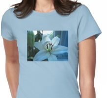 Blue Lily Womens Fitted T-Shirt