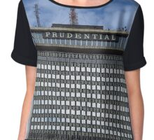 The Prudential Tower in Boston Chiffon Top