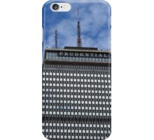 The Prudential Tower in Boston iPhone Case/Skin