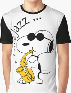I Love Jazz Graphic T-Shirt