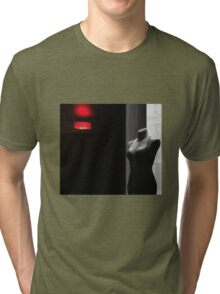 red and black, some gray... Tri-blend T-Shirt