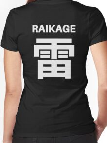 Kage Squad Jersey Raikage Women's Fitted V-Neck T-Shirt