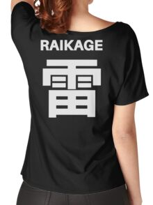 Kage Squad Jersey Raikage Women's Relaxed Fit T-Shirt
