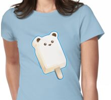 Cute Polar Bar Ice Cream Womens Fitted T-Shirt
