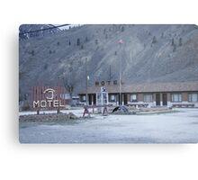 Thompson River Spences Bridge Motel Metal Print