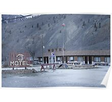 Thompson River Spences Bridge Motel Poster