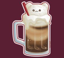 Cute Root Beer Float Ice Cream Bear by kimchikawaii