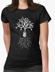 The Guitar Tree Womens Fitted T-Shirt