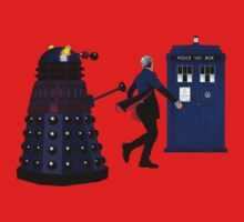 12th Doctor and Dalek One Piece - Short Sleeve