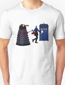 12th Doctor and Dalek Unisex T-Shirt