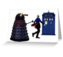 12th Doctor and Dalek Greeting Card