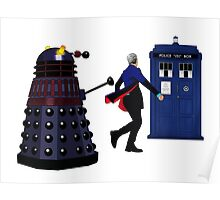 12th Doctor and Dalek Poster