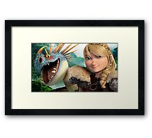 How To Train Your Dragon 06 Framed Print
