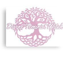 Divine Feminist Witch Metal Print