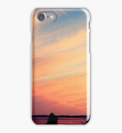 Pink and Purple Sunset iPhone Case/Skin