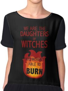 The Daughters of Witches Chiffon Top