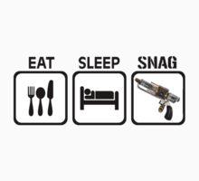 Eat, Sleep, Snag by spacegiraffes