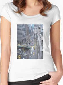 """""""Above It All""""  Grand Central Station Women's Fitted Scoop T-Shirt"""