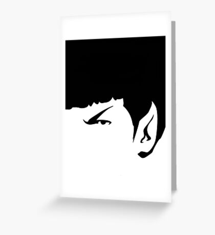 It's Spock! Greeting Card