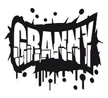 Cool Granny Graffiti Logo by Style-O-Mat