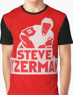Steve Yzerman Graphic T-Shirt