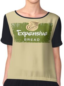 Expensive Bread Chiffon Top