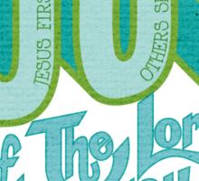Joy of the Lord Sticker