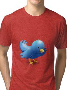 BLUE BIRD 2 Tri-blend T-Shirt