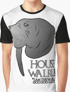 House Walrus (Silver Edition) Graphic T-Shirt