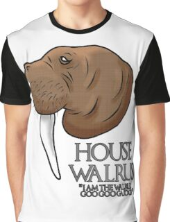 House Walrus Graphic T-Shirt