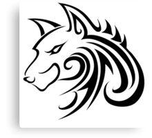 Forme de loup Canvas Print